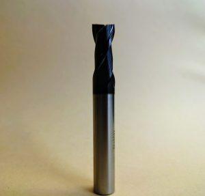 アルミ用超硬2枚刃エンドミル